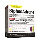 GENERIX LABORATORIES BiphedAdrene- Super Diet Pill and Dietary Supplement Formulated for Powerful Appetite Control, Mood Elevation, Increased Energy, and Rapid Weight Loss* (120 count)