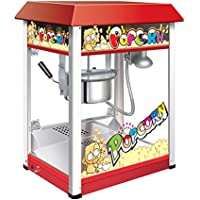 SMARTKART Electric Commercial RED Popcorn Making Machine Capacity 350Gms