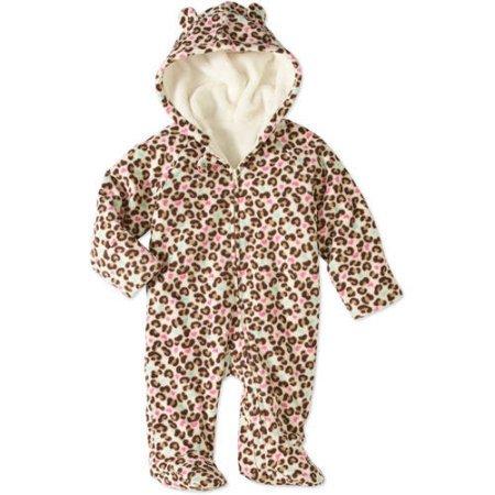 Baby Fleece Pram Suit - 4
