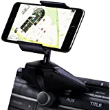 IPOW One Touch Installation CD Slot Smartphone Car Mount Holder Cradle for iPhone Samsung Galaxy LG Nexus
