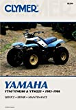Yamaha YTM/YFM200 and YTM225, 1983-1986, Clymer Publications Staff and Penton Staff, 0892874503