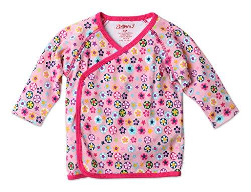 Zutano Kimono Top, Flower Shower, 3 Months
