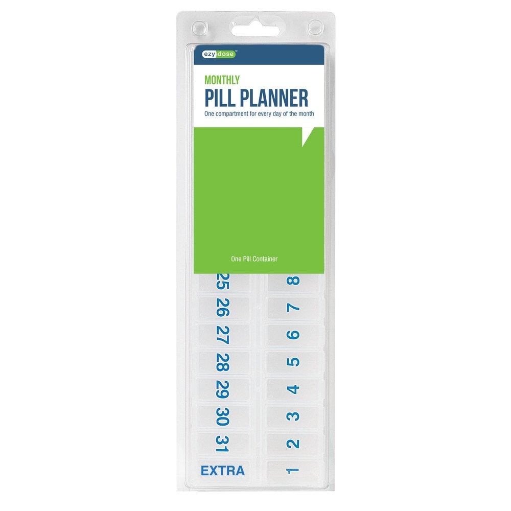 Ezy Dose Monthly Pill Planner