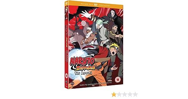 Amazon.com: Naruto - Shippuden Movie Pentalogy [DVD]: Movies ...