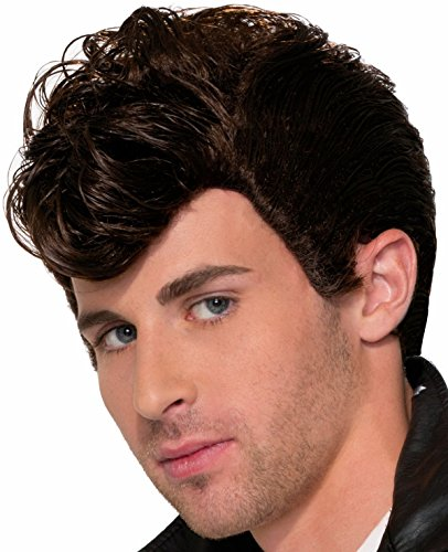 Greaser Hair - Forum Novelties 50s Greaser Wig Costume