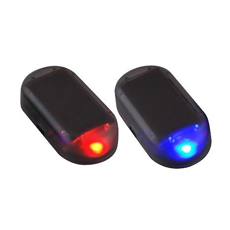 Amazon.com: Luz estroboscópica LED con alarma de seguridad ...