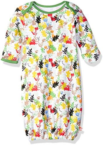 Zutano Baby Printed Cotton Gown, Dino Camo, 3 - Zutano Camo