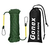 Gonex Static Climbing Rope, 8mm Safety High