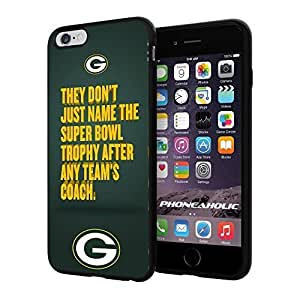 NFL Green Bay Packers , Cool iphone 5 5s Smartphone Case Cover Collector iphone TPU Rubber Case Black