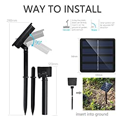 Solar Powered String Lights ,Solarmks Solar Lights Outdoor 200 LED 72ft, Ambiance Lighting for Garden, Patio and Holiday Decorations (White)