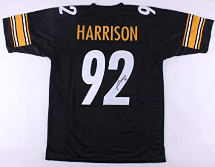 innovative design b5b02 6d792 James Harrison Autographed Signed Steelers Jersey - JSA ...