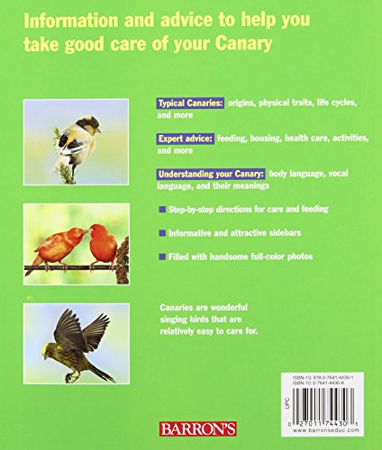 Canaries (Complete Pet Owner's Manuals) 2