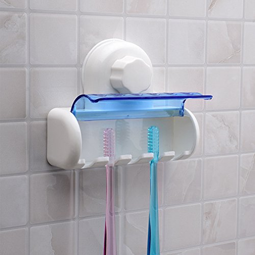 New Plastic Dust-Proof Toothbrush Holder Bathroom Kitchen Fa