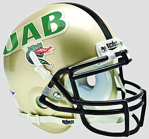 Schutt Alabama-Birmingham (UAB) Blazers Mini XP Authentic Helmet - NCAA Licensed - UAB Blazers Collectibles