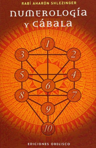 Numerologia y Cabala (Coleccion Alef) (Spanish Edition) [Rabi Aharon Shlezinger] (Tapa Blanda)