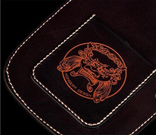 China Palaeowind Manual Primera Capa De Piel Cuero Curtido Vegetal Retro Bolso Locomotor Bolso De Bandolera 21 * 14.5 * 5cm,Coffee coffee