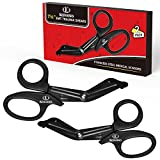 K KERNOWO Supply-7 1/4 Inch EMT and Trauma Medical Scissors-Premium Quality Fluoride Bandage Shears for EMS, Nurses,Doctor,Emergency,2 Pack