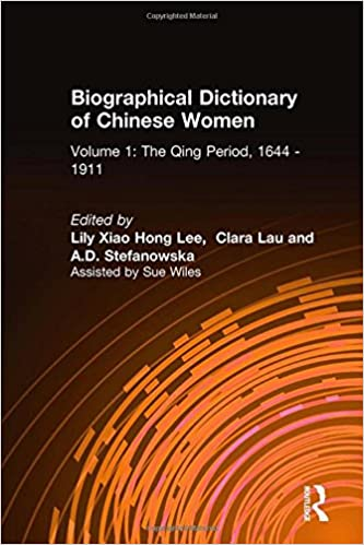 Biographical Dictionary of Chinese Women: v. 1: The Qing Period, 1644-1911 (UNIVERSITY OF HONG KONG LIBRARIES PUBLICATIONS)