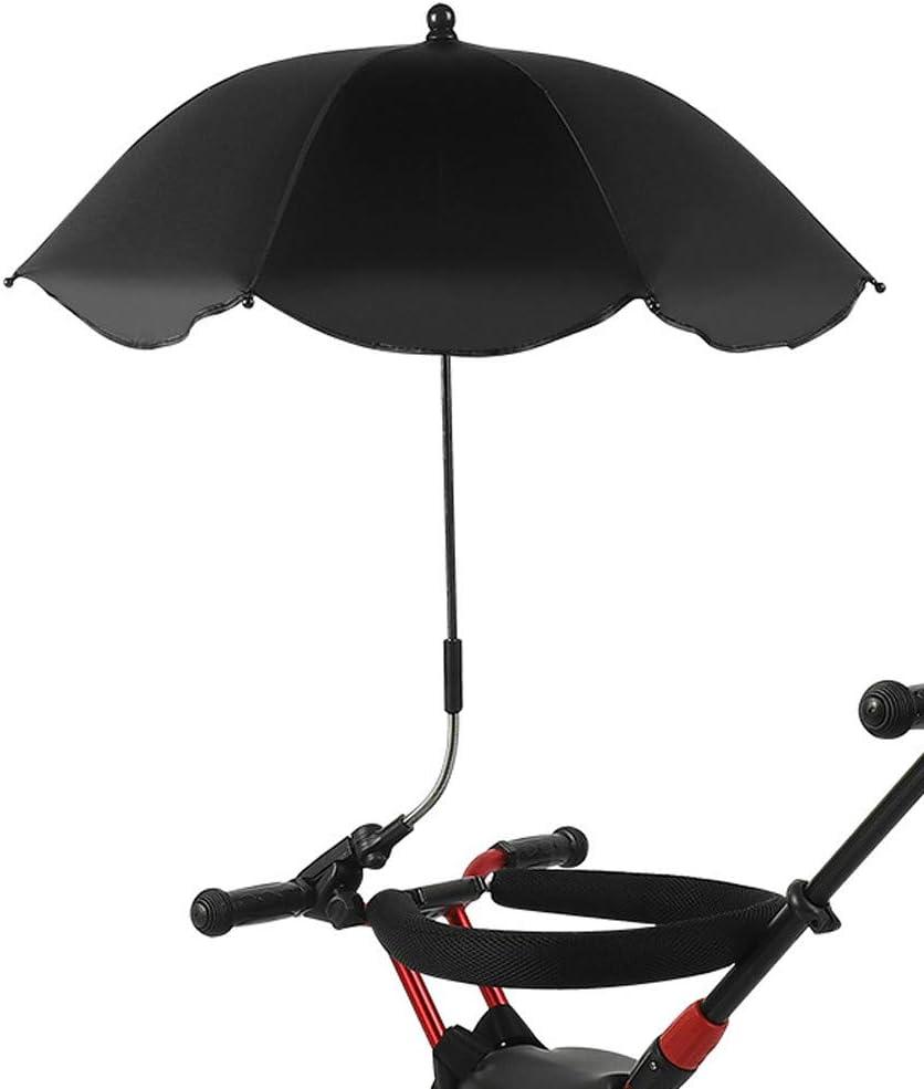 Tongina Children Clip-On Universal Stroller Umbrella with UV Proteion Green Optional Colors 68x65cm