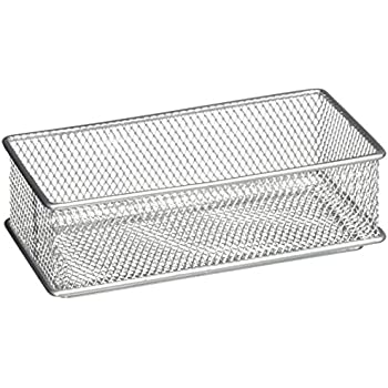 Amazon Com Design Ideas Mesh Drawer Store Silver 3 By 6