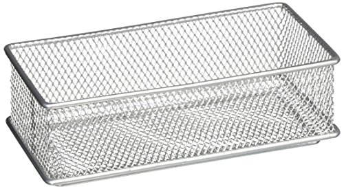 Design Ideas Mesh Drawer Store, Silver, 3 by (Mesh Silver Wire)