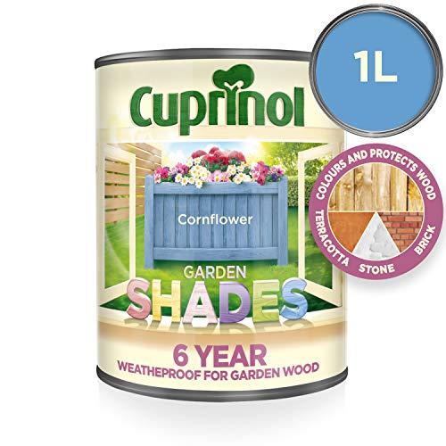 (Cuprinol 5316975 Garden Shades Exterior Woodcare, Cornflower )