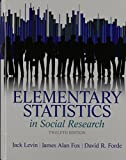 Elementary Statistics in Social Research Plus MySearchLab with Pearson EText -- Access Card Package 12th Edition