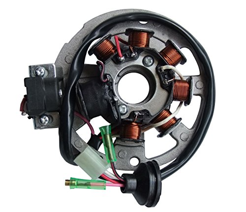 - shamofeng Magneto Stator for Polaris ATV Scrambler 90 2001-2003 Sportsman 90 2001-2006 Predator 90 2003-2006 Replaces Polaris 0450523, 0451000
