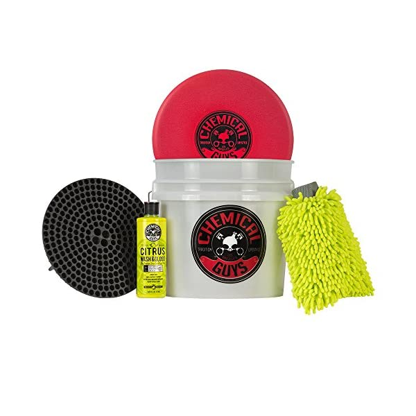 Chemical Guys HOL133 Best Detailing Bucket Kit (5 Items), 16. Fluid Ounces