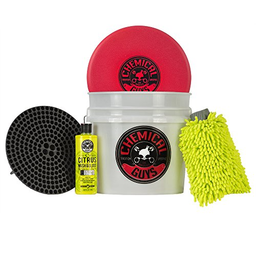 Chemical Guys HOL133 Best Detailing Bucket Kit (5 Items), 16. Fluid_Ounces