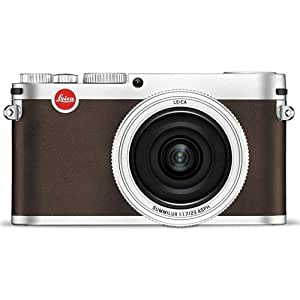 Leica X (typ 113) 16.5MP Digital Camera with 3-Inch TFT LCD (Silver)