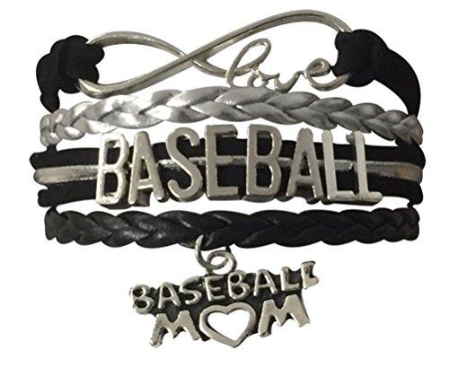 Baseball Mom Gifts - Baseball Mom Bracelet- Baseball Jewelry For Moms - Perfect Gift for Baseball Moms