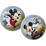 gioco con la palla / CALCIO / Palla da spiaggia/PALLANUOTO Disney Mickey Mouse con Pluto, PIPPO E DONALD ca. 23 cm