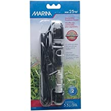 Marina Submersible Heater for Aquarium, Mini, 25-watt