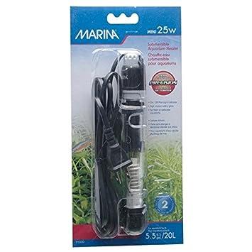 Marina Termocalentador Pre-Set 25 W, 15Cm: Amazon.es: Productos para mascotas