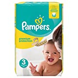 Pampers Premium Protection Größe 3 (Midi) 5-9 kg M…