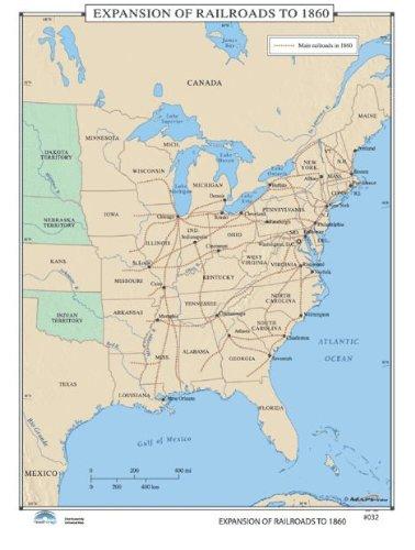 Amazon.com: Universal Map U.S. History Wall Maps - Expansion ...