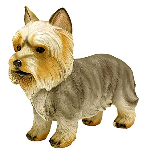 DWK Enterprises Yorkshire Terrier Dog Statue Figurine