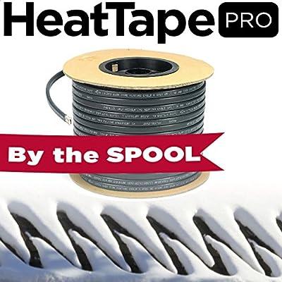 Heavy Duty Ice Dam Heat Tape On Spools, Self-Regulating, 11MM 500 feet, 240 volt, 8 watts per foot