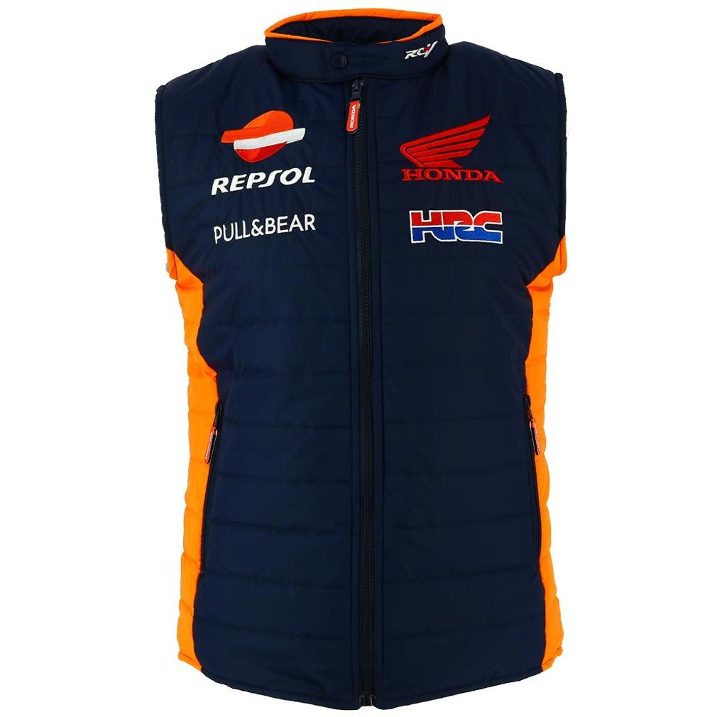 HONDA Repsol MotoGP 2018 Ufficiale Squadra Uomo Gilet Gilet Marquez