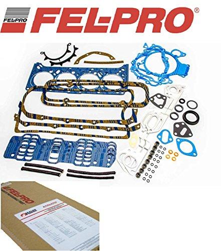 1968-1979 Fel Pro Full Gasket Set Pontiac 400 455 V8 Complete Full Overhaul Kit (Full Gskt Set) ()