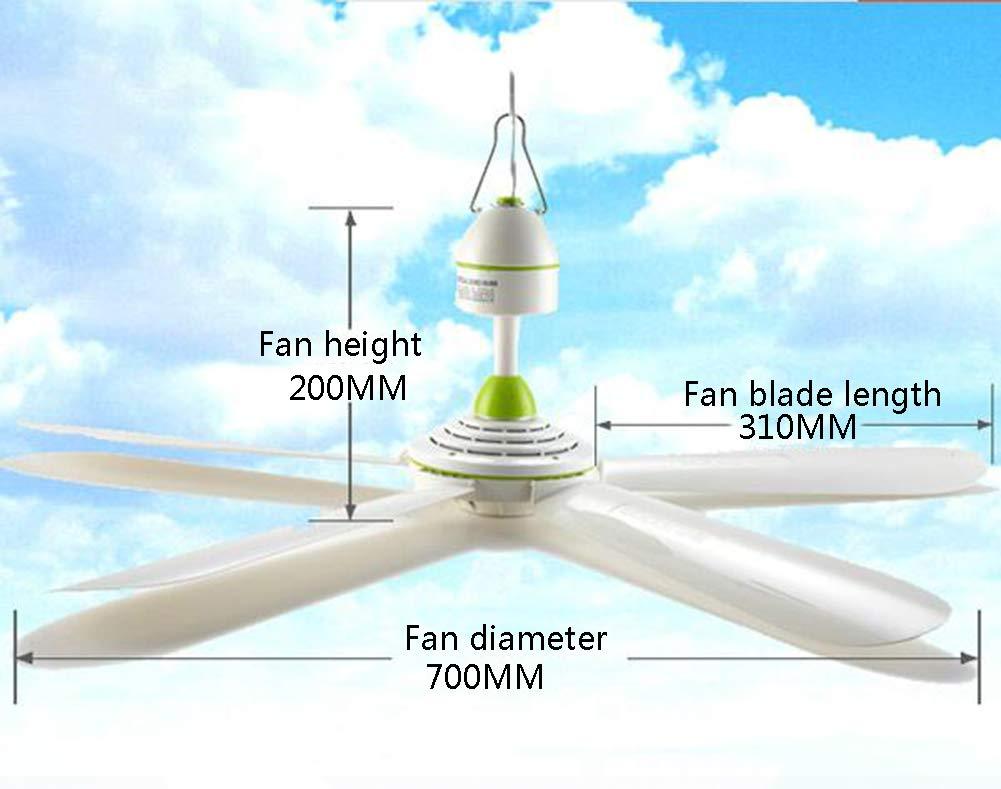 Deckenventilator Kleiner Startseite Schlafsaal Bett F/ünf Bl/ätter Big Wind Ruhig Kleines Wohnzimmer Breeze Moskitonetz Fan