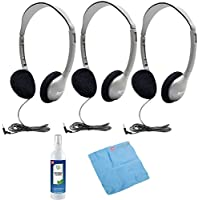 Hamilton HA2 Schoolmate Personal Stereo Headphone (3-Pack)