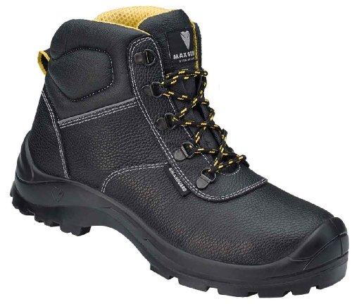 Maxguard CONNOR, Chaussures de sécurité mixte adulte Noir Noir 49