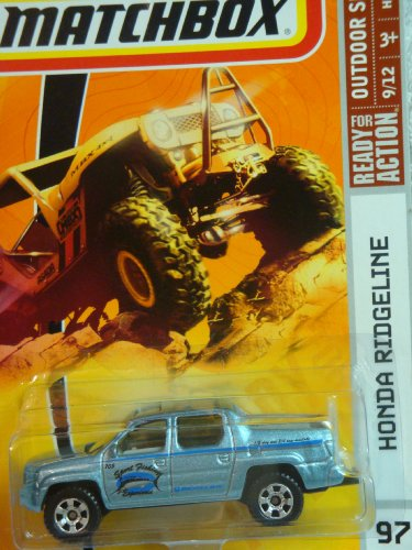Matchbox 2009, Honda Ridgeline # 97, Outdoor Sportsman 1:64 Scale.