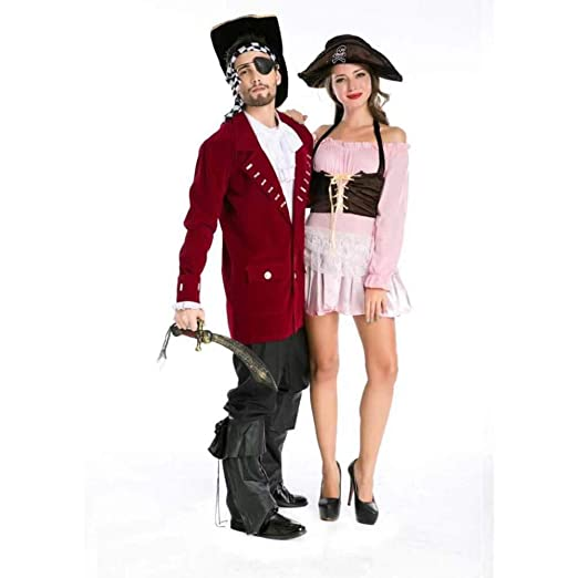KAIDILA Traje de Pirata de Jack Halloween desempeño de ...