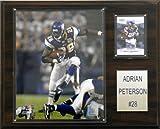 NFL Adrian Peterson Minnesota Vikings Player Plaque