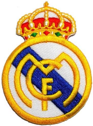 Nouveau 2019 REAL MADRID Espagne Football Soccer Qualité Iron sew on patch badge logo