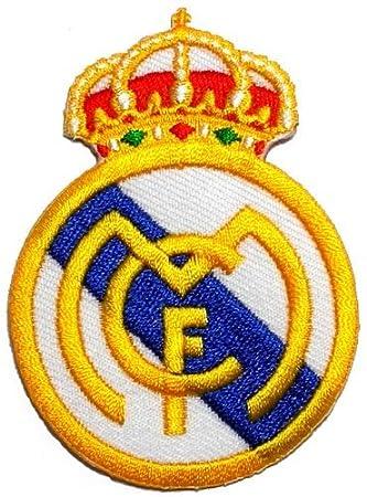 "2.2"" x 3.1""Real Madrid C.F. Football Club FC DIY Embroidered ..."