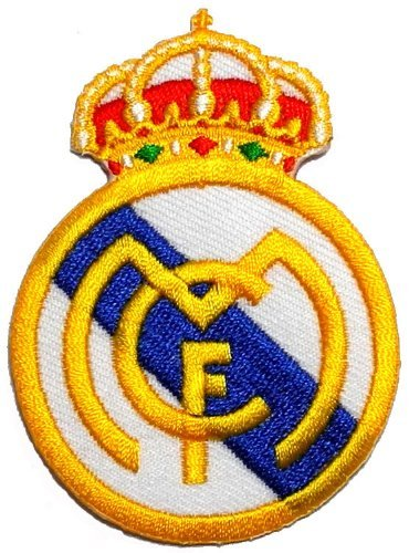 b7de6495b3 2.2 quot  x 3.1 quot Real Madrid C.F. Football Club FC DIY Embroidered ...